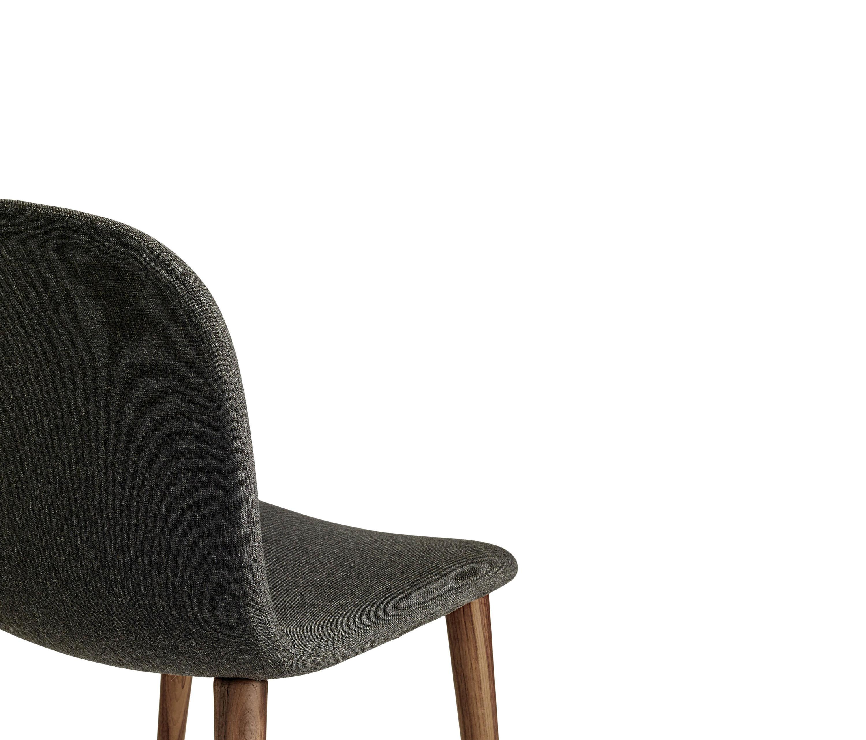 design within reach chair walnut wheelchair man bacco in fabric legs visitors chairs