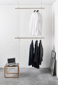 AIRJUST TWIN - Ceiling mounted coat racks from RaumForm33 ...
