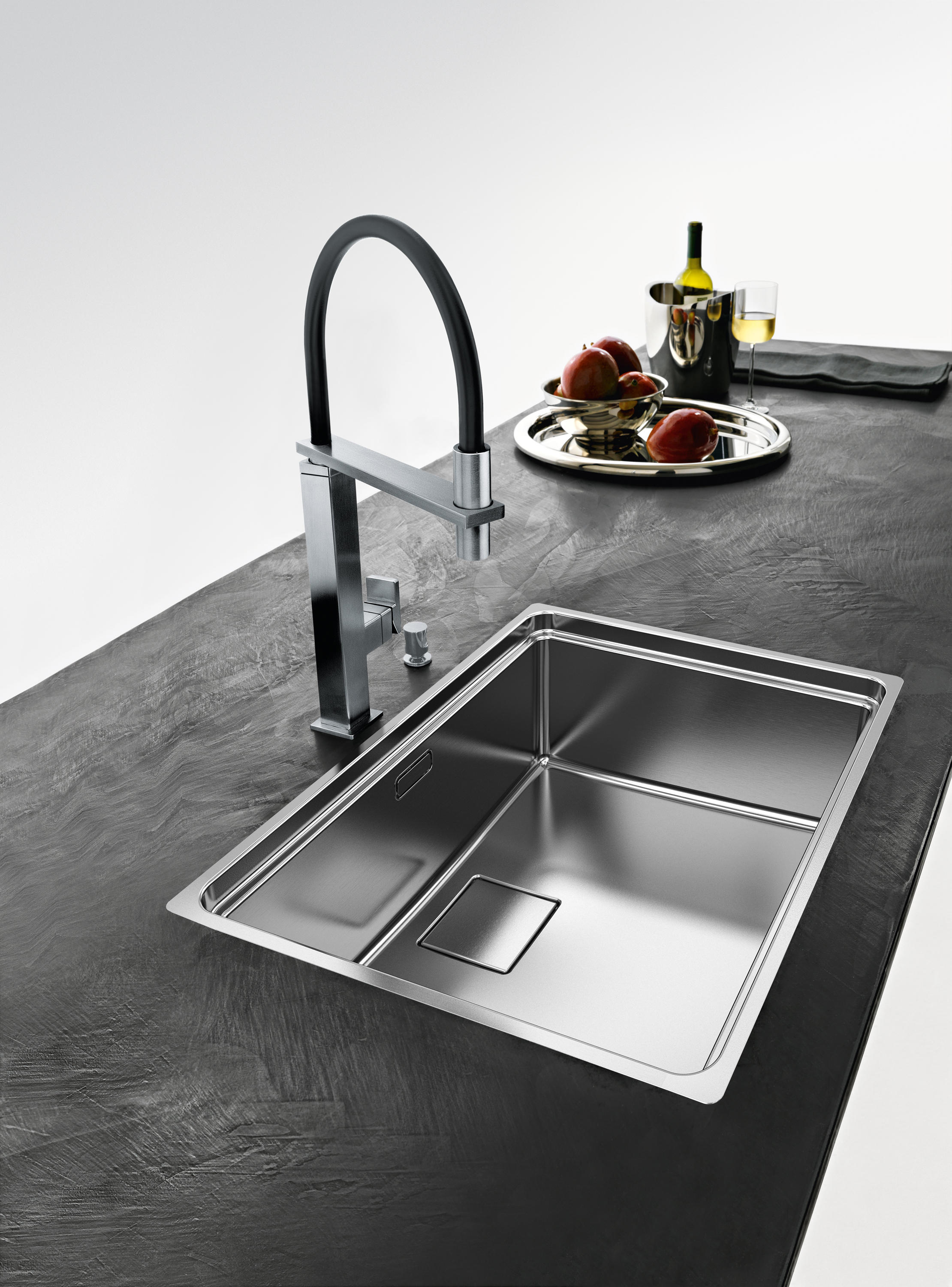 franke kitchen sinks hinges for cabinets centinox sink cmx 210 50 stainless steel