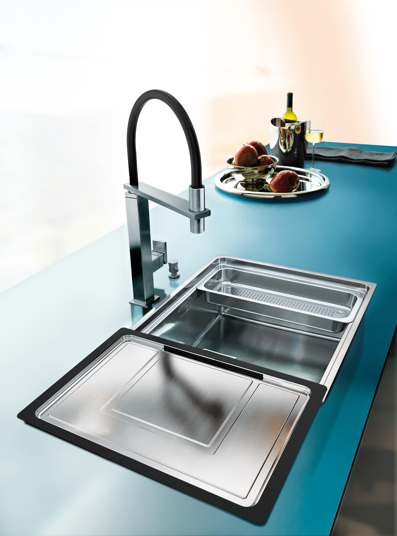 franke kitchen sinks oak pantry cabinet centinox sink cmx 210 50 stainless steel
