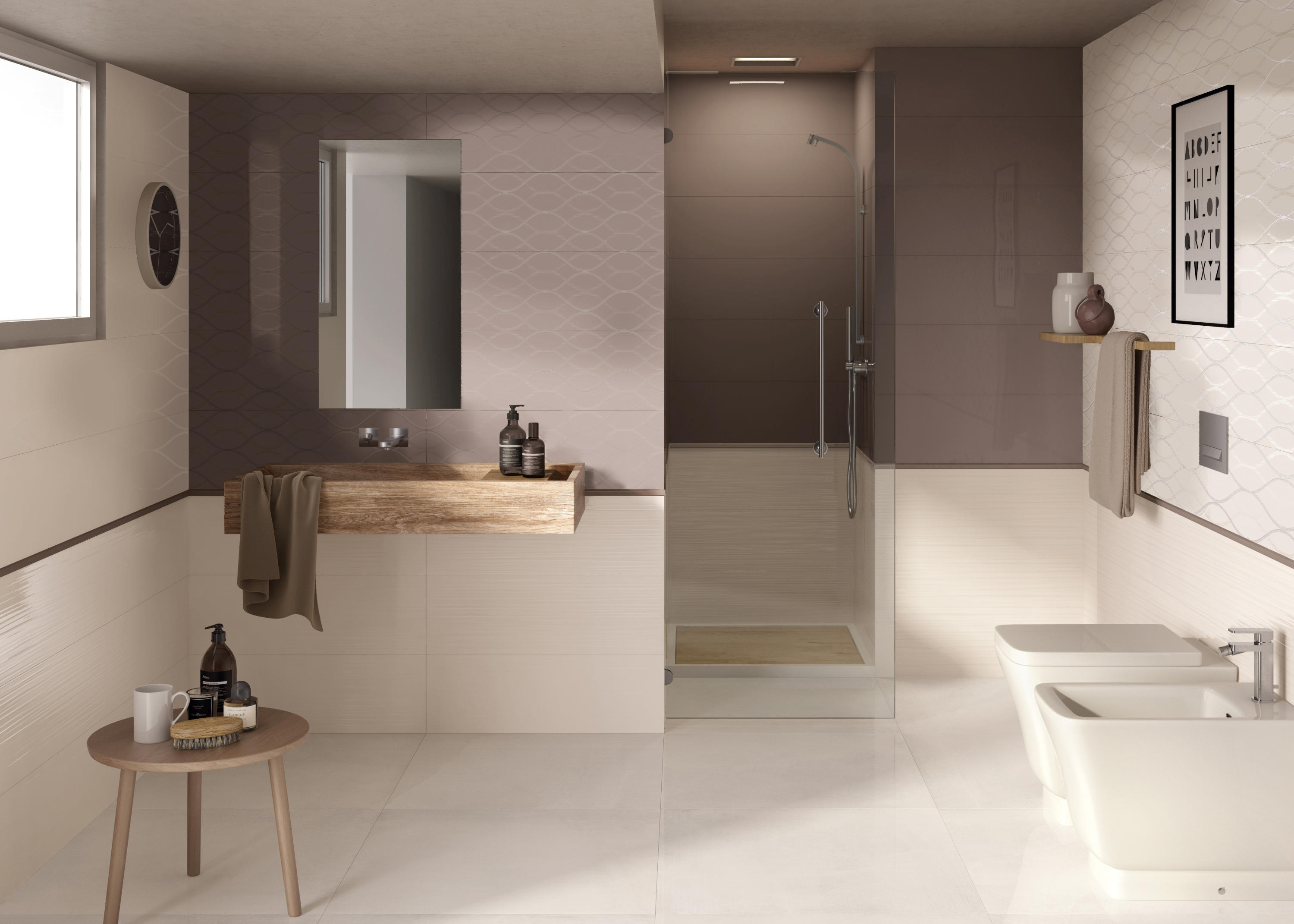 Bagno Color Tortora Flavour Berry Carrelage De Ceramiche Supergres Architonic