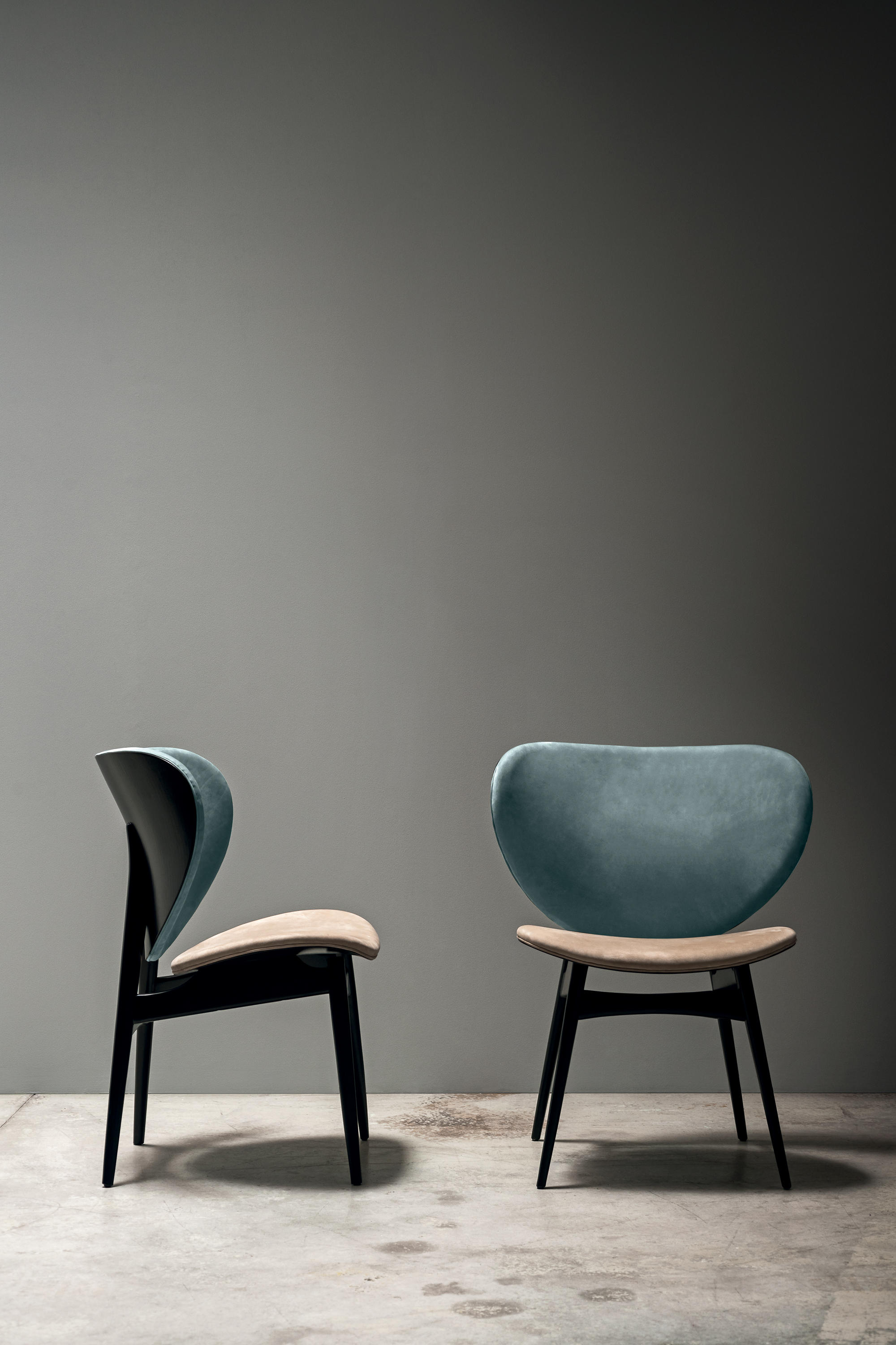 design within reach chair walnut hanging ezibuy alma - chairs from baxter | architonic