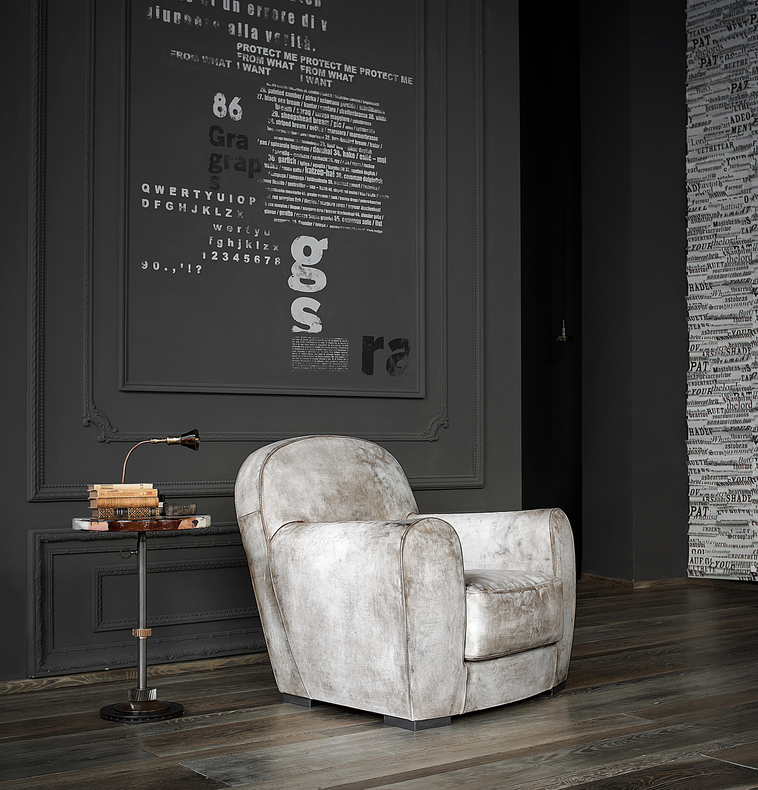 swivel chair feet cover alternatives wedding amburgo baby armchair - lounge chairs from baxter   architonic