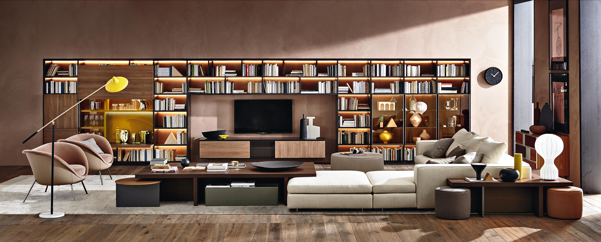 505_MULTIMEDIA  Multimedia sideboards from Molteni  C
