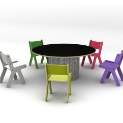 My Little Pony Table And Chairs Folding Antique Rocking Chair Sedie Per Bambini Kloss Architonic