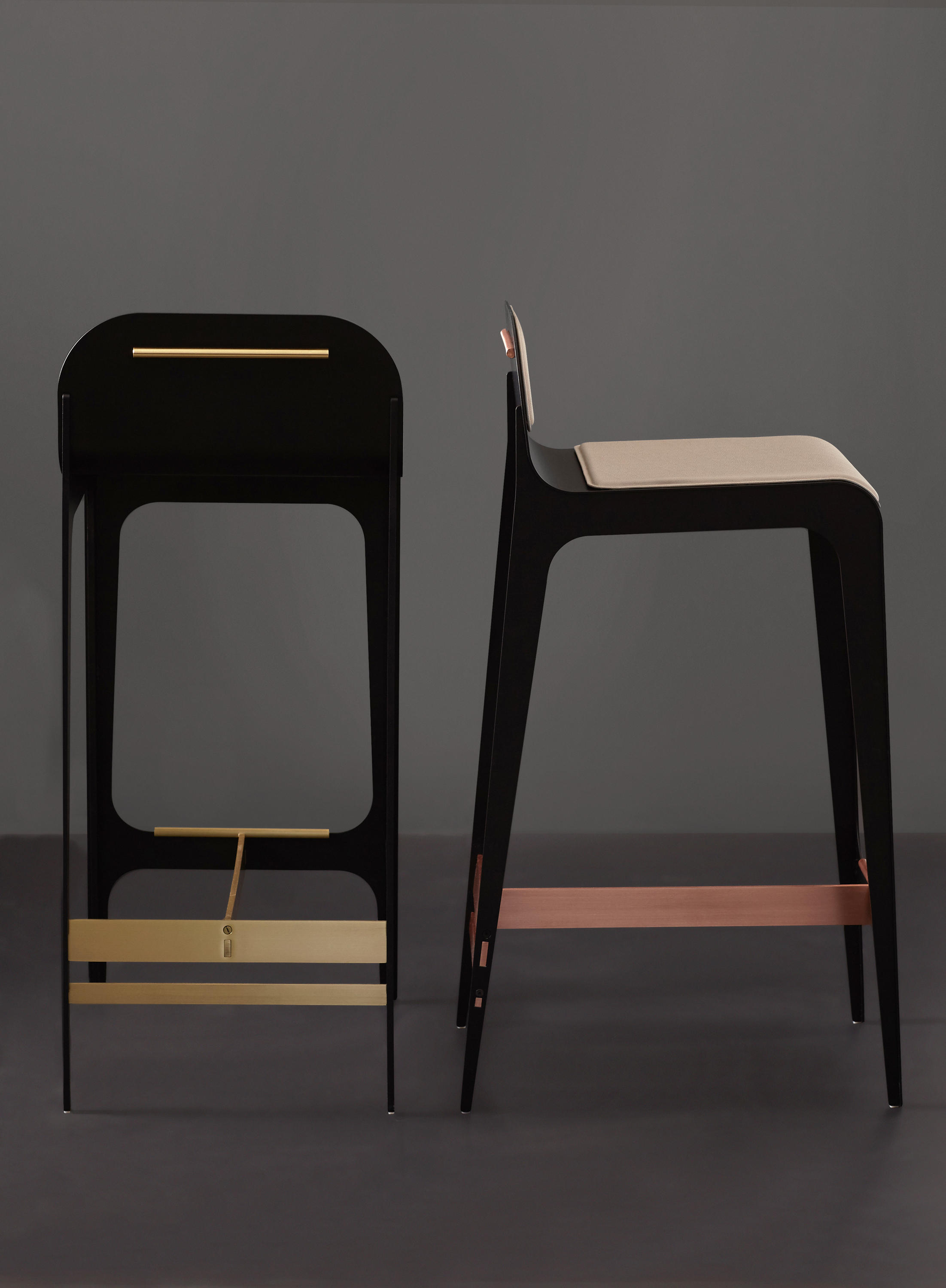 BARDOT COUNTER  BAR STOOL  Bar stools from Gabriel Scott