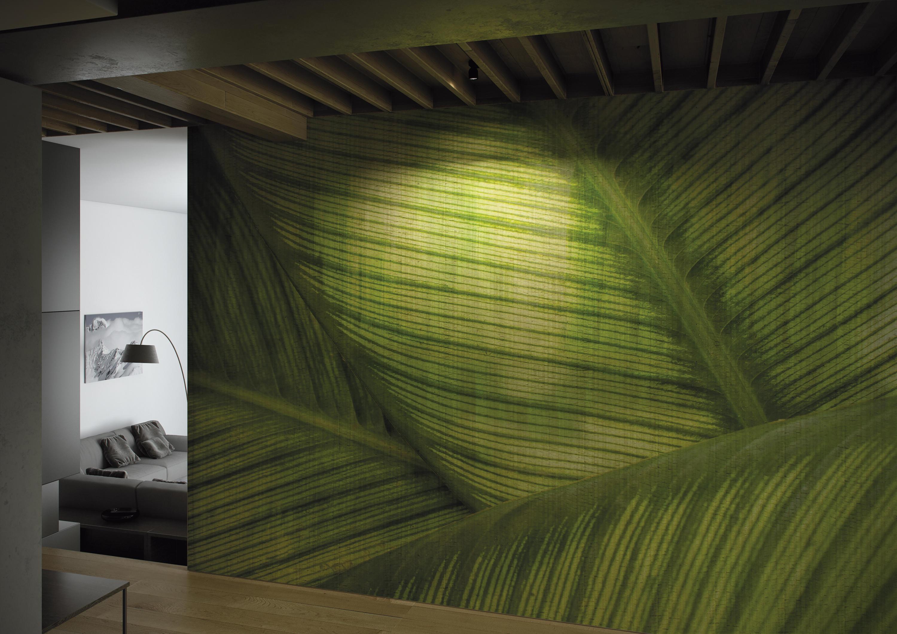 PAYSAGE EQUATORIAL JUNGLE  Bespoke wall coverings from
