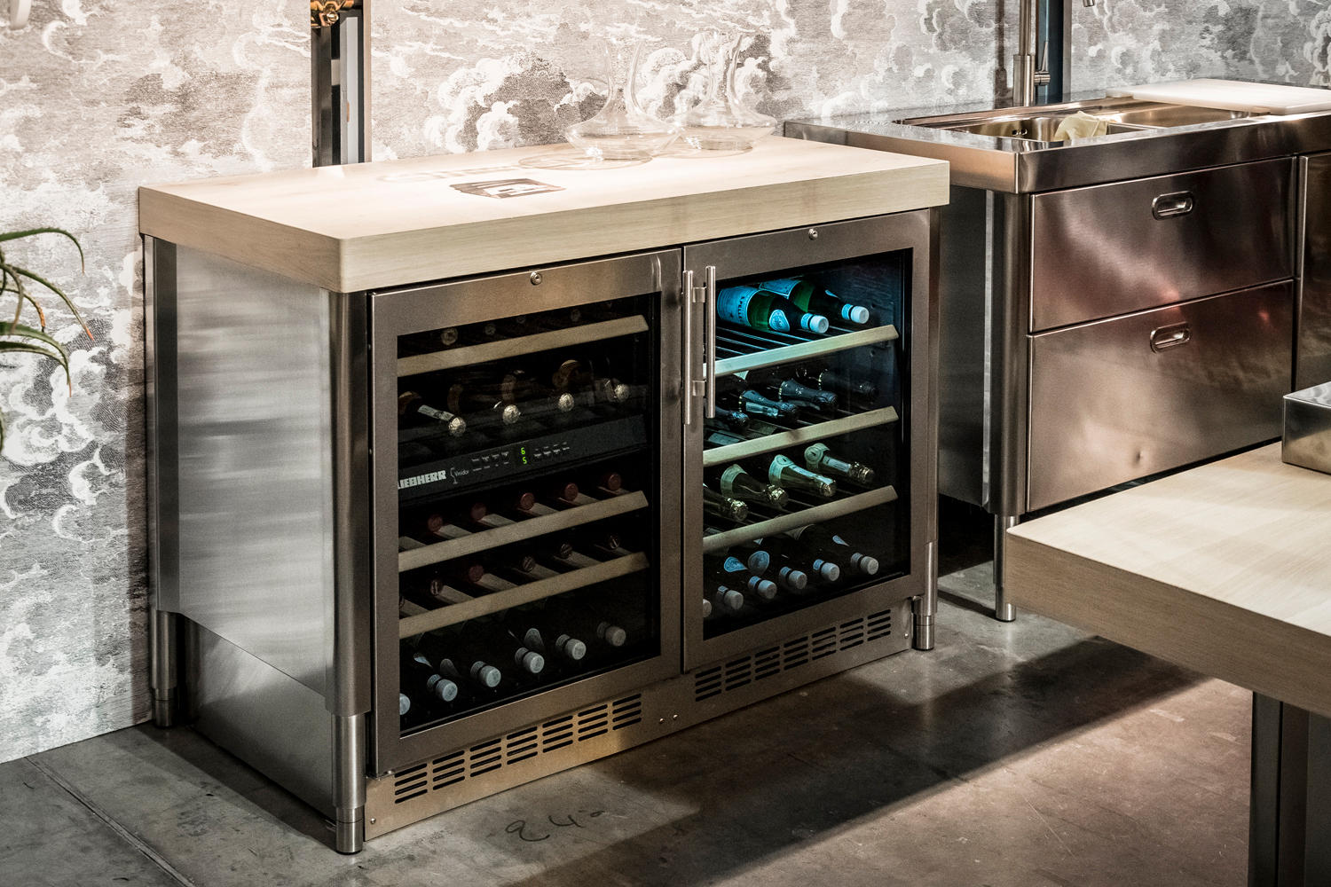 WINE COOLER 70 KITCHENS Wine Coolers From ALPES INOX