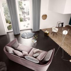 2 Seat Reclining Sofa Cover Calligaris Review Rolf Benz Tondo - Modular Systems From ...