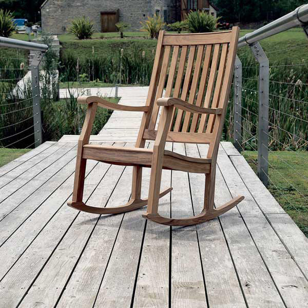 newport rocking chair desk kmart armchairs from barlow tyrie architonic by