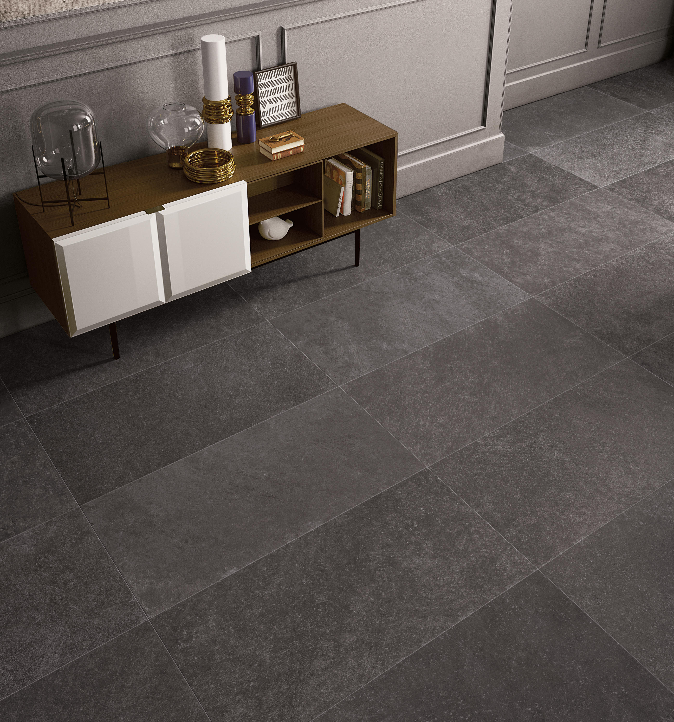CODE  ANTHRACITE  Ceramic tiles from Keope  Architonic