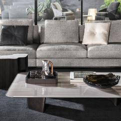 Black Lacquer Sofa Table Yellow Leather Sleeper Song Coffee - Lounge Tables From Minotti | Architonic