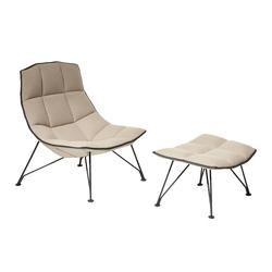 jehs laub lounge chair bean bag chairs cheap walmart armchairs from knoll international ottoman