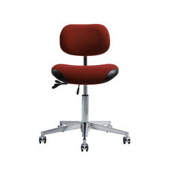 office chair steel base with wheels metal rail molding chairs high quality designer architonic vl66k vermund