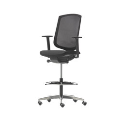 high chair that attaches to counter vintage ekornes stressless breeze pro support office chairs from nurus architonic stools