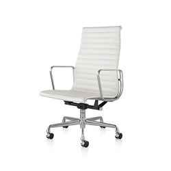 eames aluminum chair rocking glider cushions group executive office chairs from herman miller