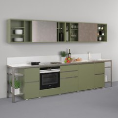 Modular Kitchens Round Kitchen Table With Leaf High Quality Designer Architonic Buffet Banco A Parete Estel Group