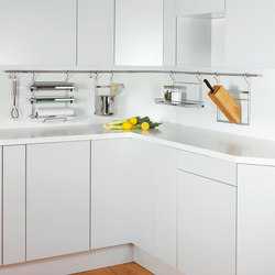 kitchen rail system kohler simplice faucet linero mosaiq organization from peka r16
