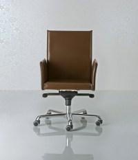 Alfa by Enrico Pellizzoni   Swivel armchair low back