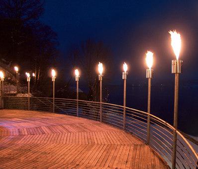 DELIGHT 10 GASFACKEL  Fackeln von Attika Feuer  Architonic