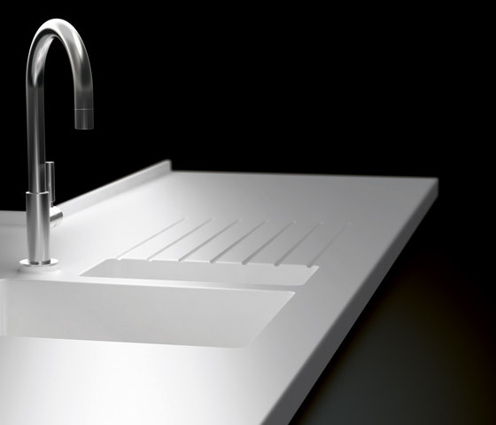 kitchen sink types materials remodel price worktops made of corian® - sinks from hasenkopf ...
