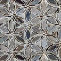 Flapper Floral Glass Mosaic by Artistic Tile | Flapper ...
