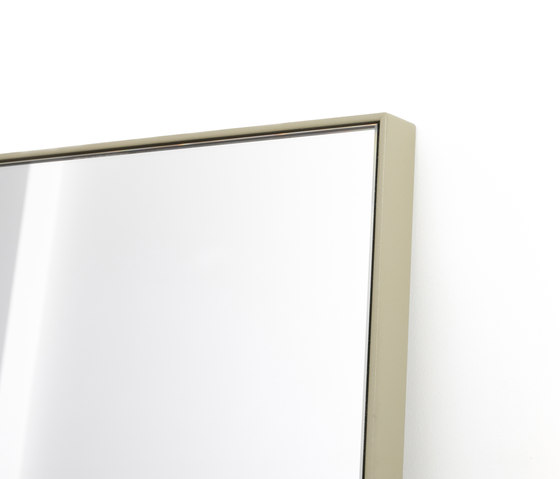 Steel frame mirror by MA