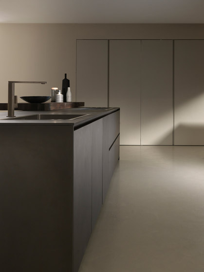 MH6 2 LAVA MELAMINE ISLAND  Fitted kitchens from