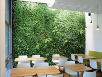 GREEN WALL Qivasou Restaurant, Munich by art aqua | GREEN