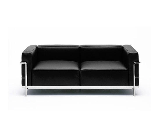 lc3 sofa friheten corner bed bomstad black review 2 seater sofas from cassina architonic by