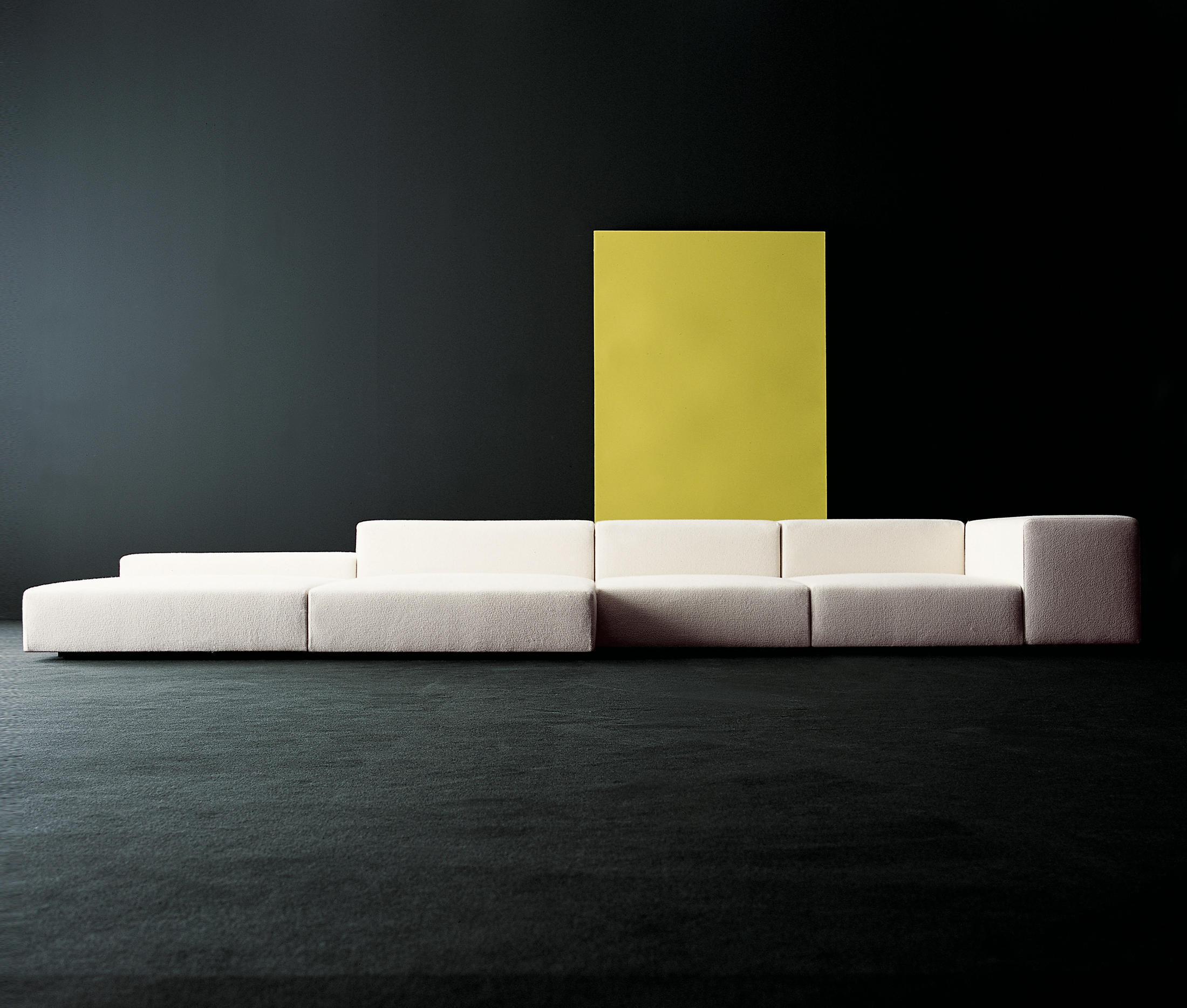 wall sofa mounted fold out sleeper extra modular system seating systems