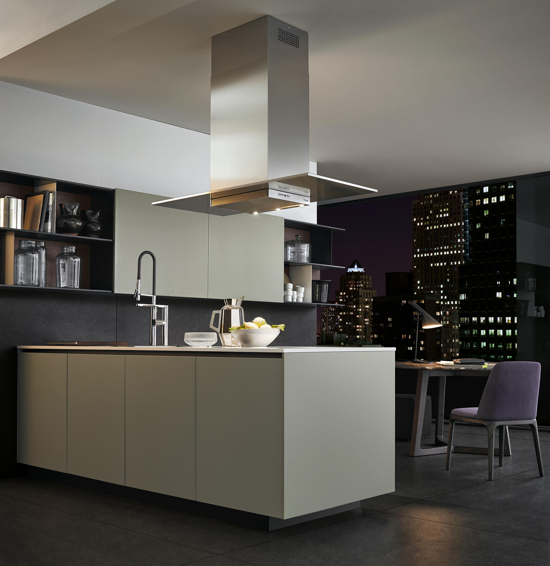 Varenna Cocinas Alea Fitted Kitchens From Varenna Poliform Architonic