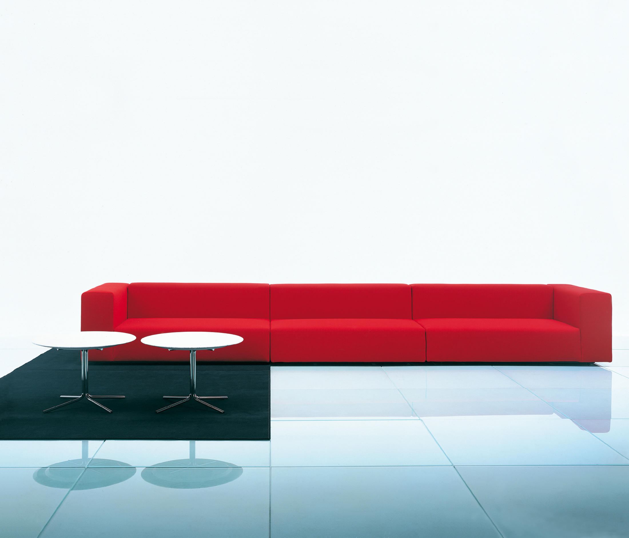 wall sofa second hand bed reading modular system common by naoto