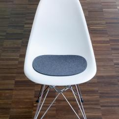Acrylic Side Chair With Cushion Office Armrest Slipcovers Seat Eames Plastic Cushions From