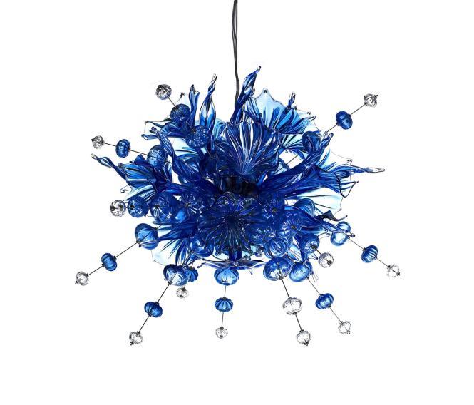 Ulus 120 Chandelier Blue By Bsweden General Lighting