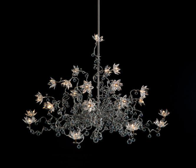 Jewel Diamond Chandelier Pendant Light 24 Transpa By Harco Loor General Lighting