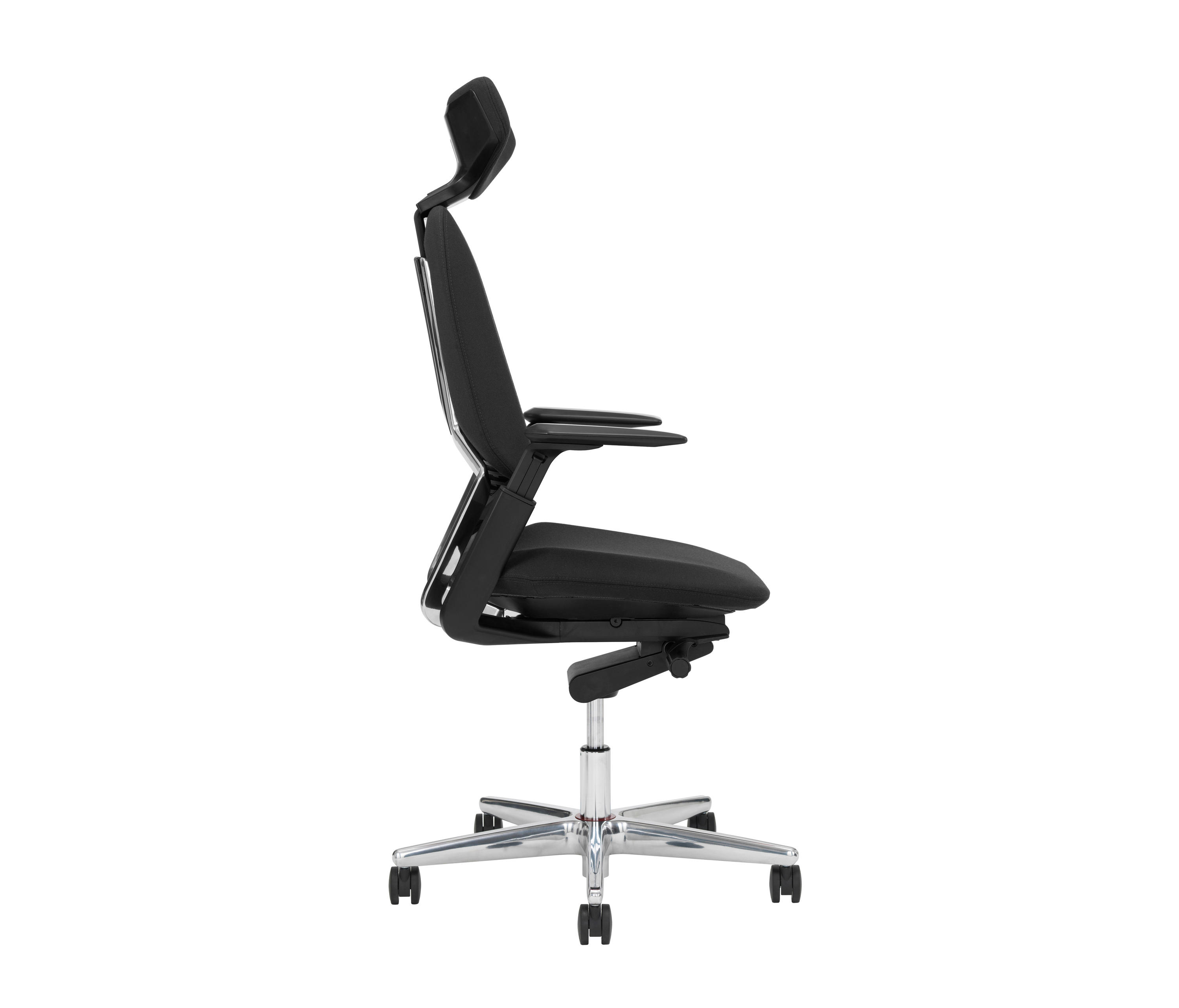 office chair leaning to one side brown wicker chairs at lowes savo s3 ln management from architonic