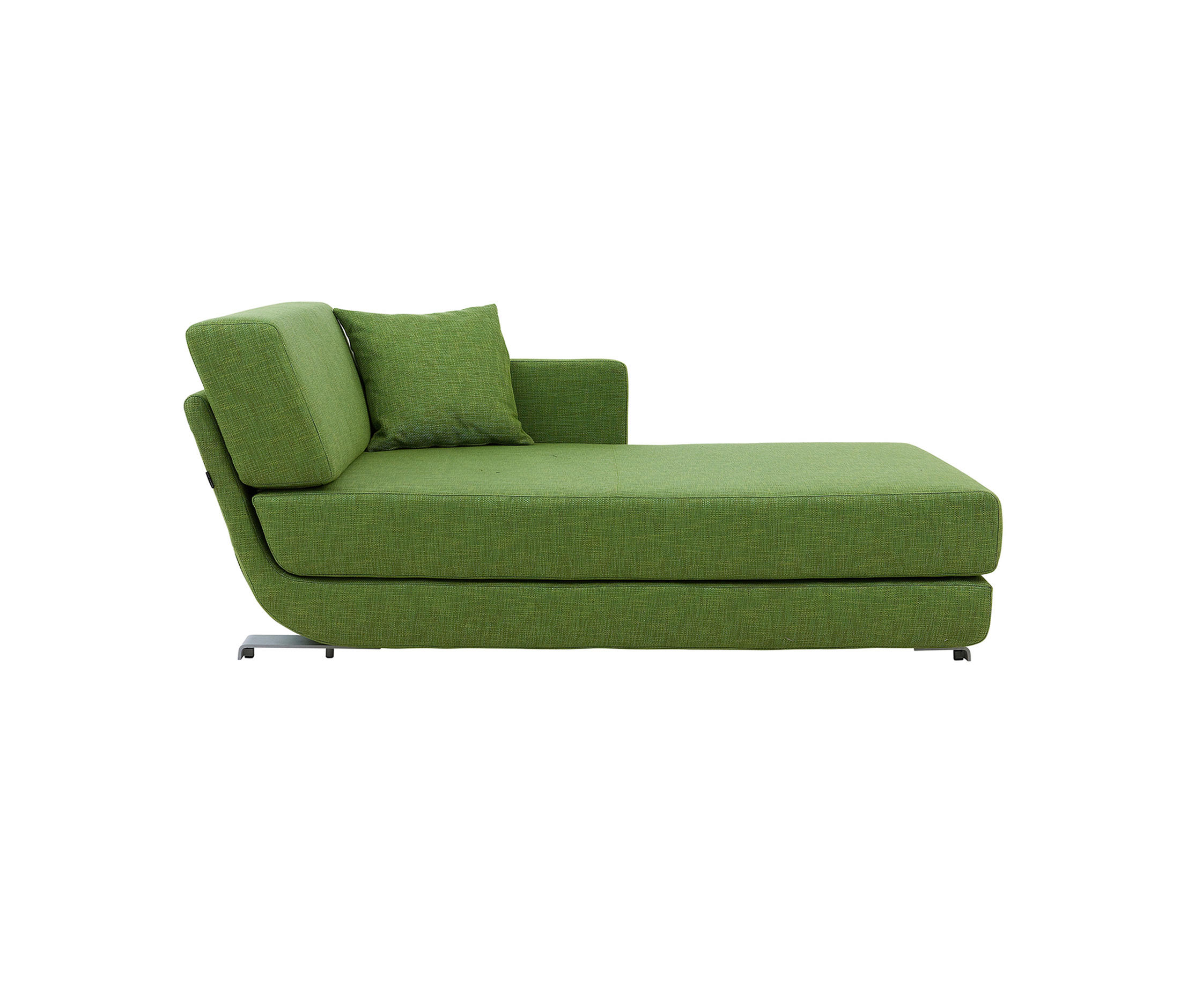chez long sofa bed aqua sectional lounge chaise beds from softline a s architonic