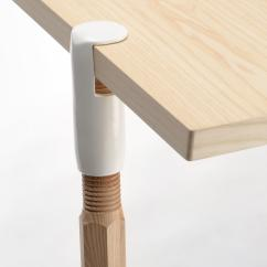 Steel Chair Joints Folding Armless Camping Chairs Clamp A Leg Trestles By De Vorm Architonic