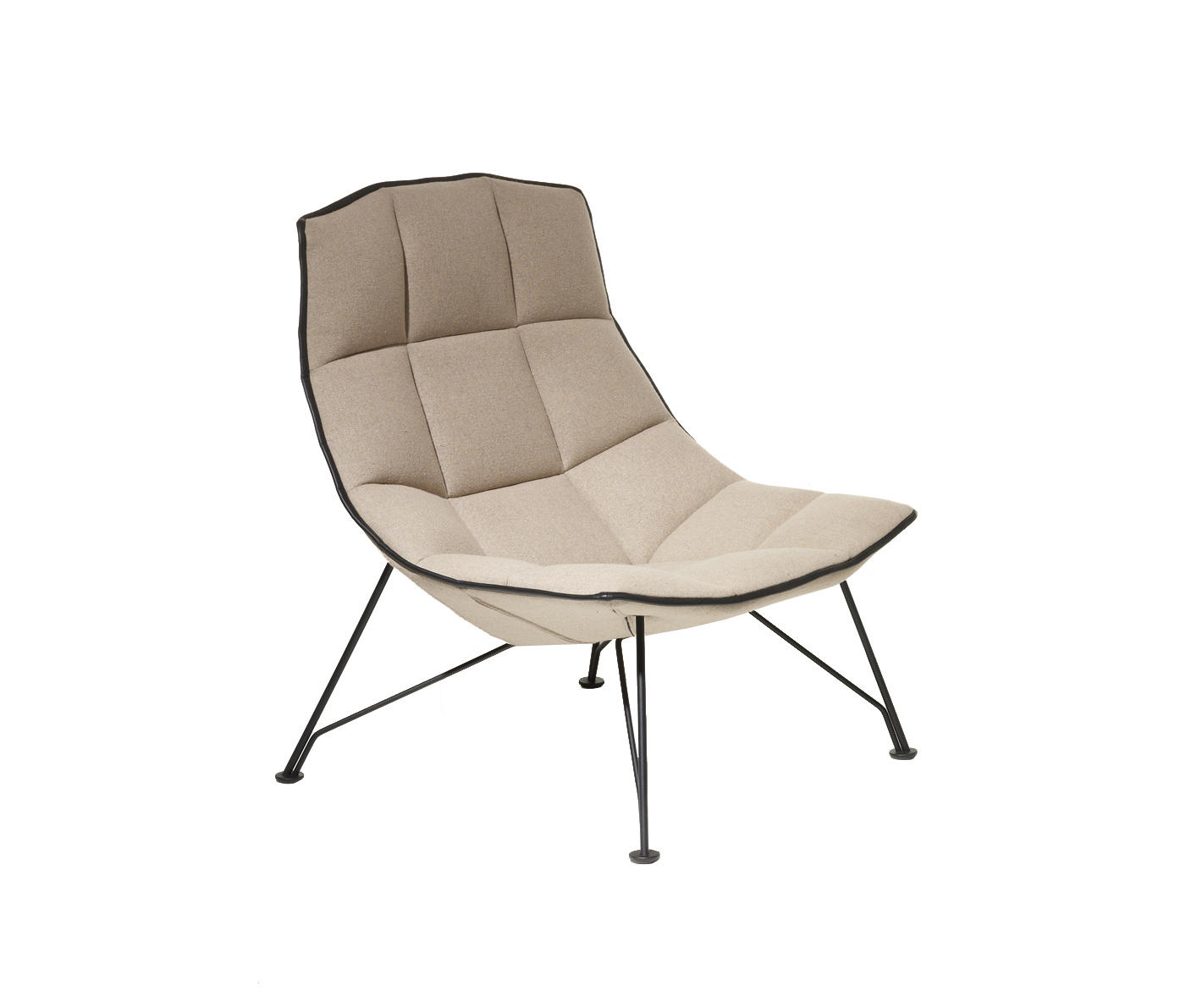 jehs laub lounge chair 2 x 4 deck armchairs from knoll international by
