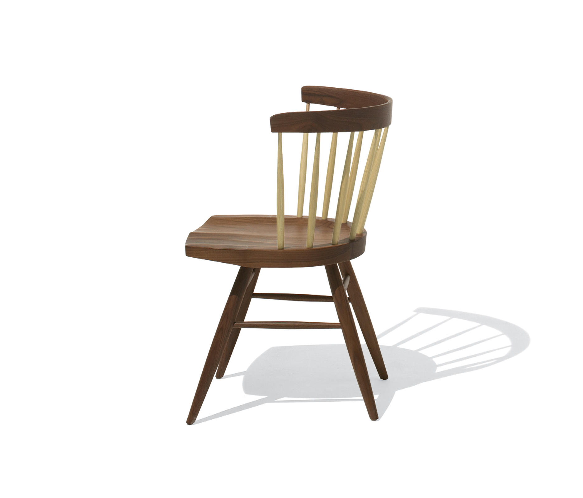 NAKASHIMA STRAIGHT CHAIR  Chairs from Knoll International