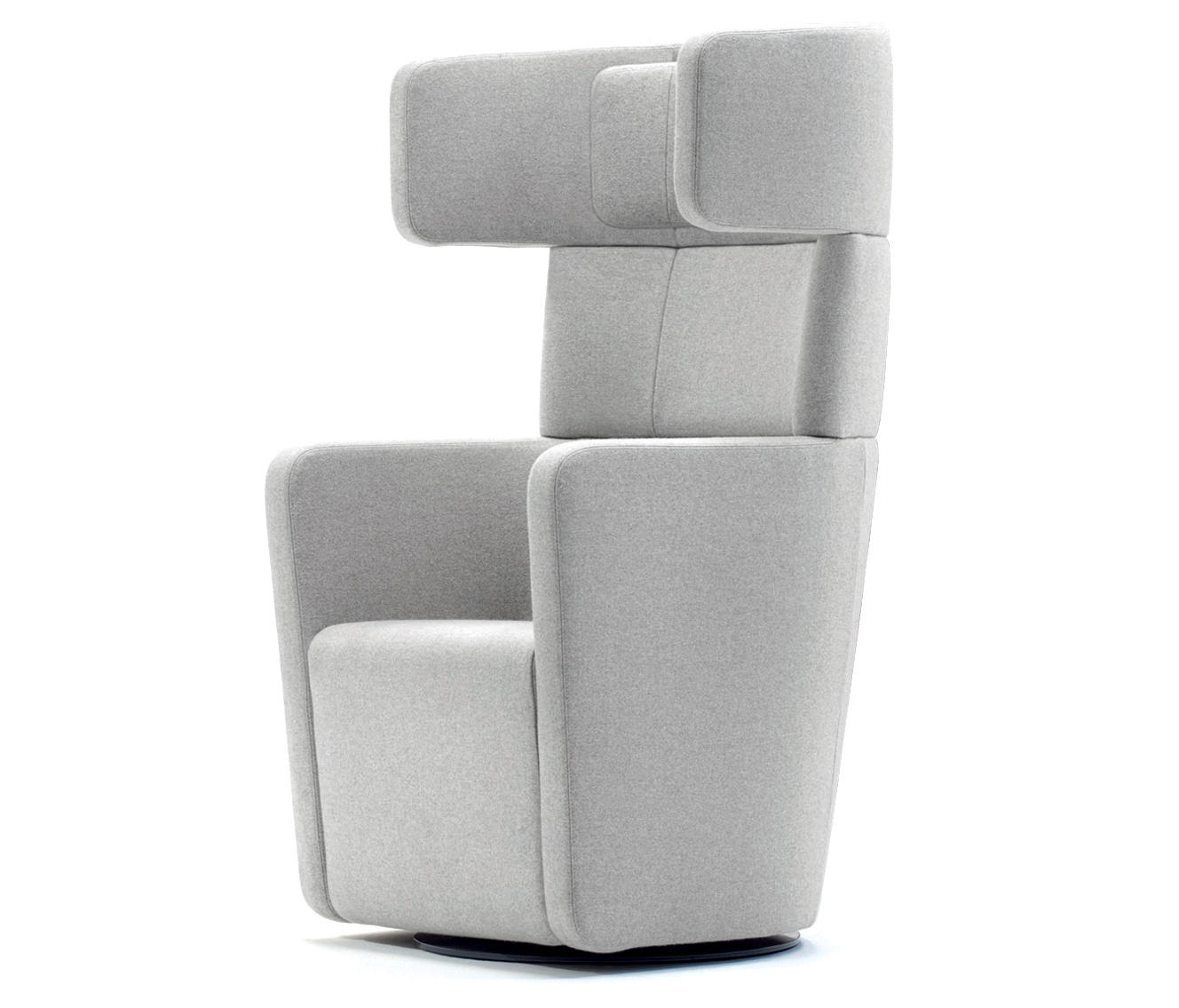 high back wing chairs modern chair design parcs - armchairs from bene | architonic