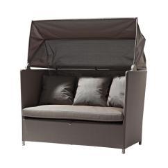 Hideaway Sofa Bed Dark Brown Leather With Grey Walls Mattress Http Tmidb