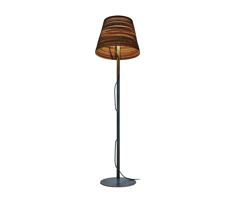 TILT NATURAL FLOOR LAMP