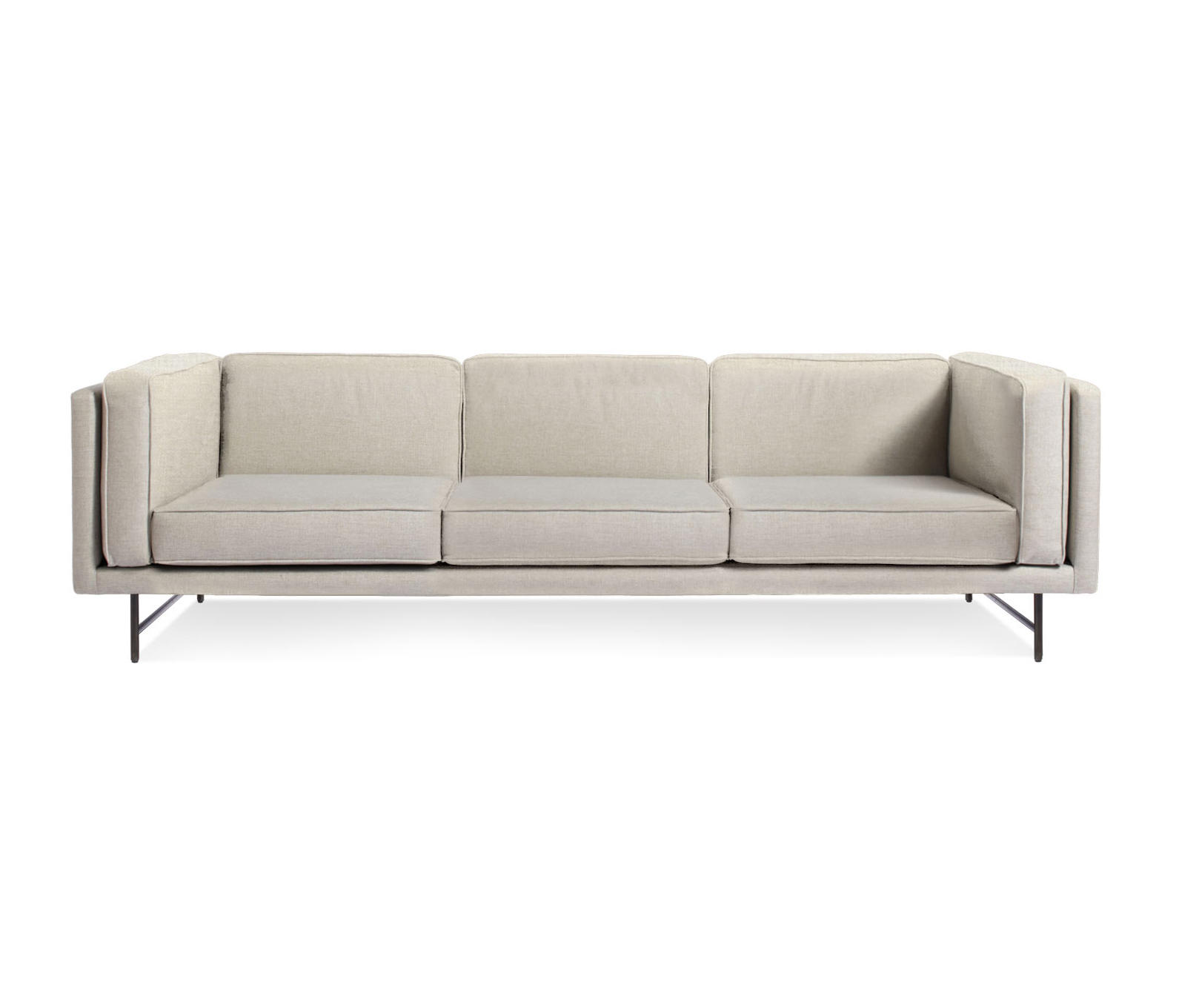 blu dot bank sofa sofas and armchairs house fraser 96 lounge from architonic