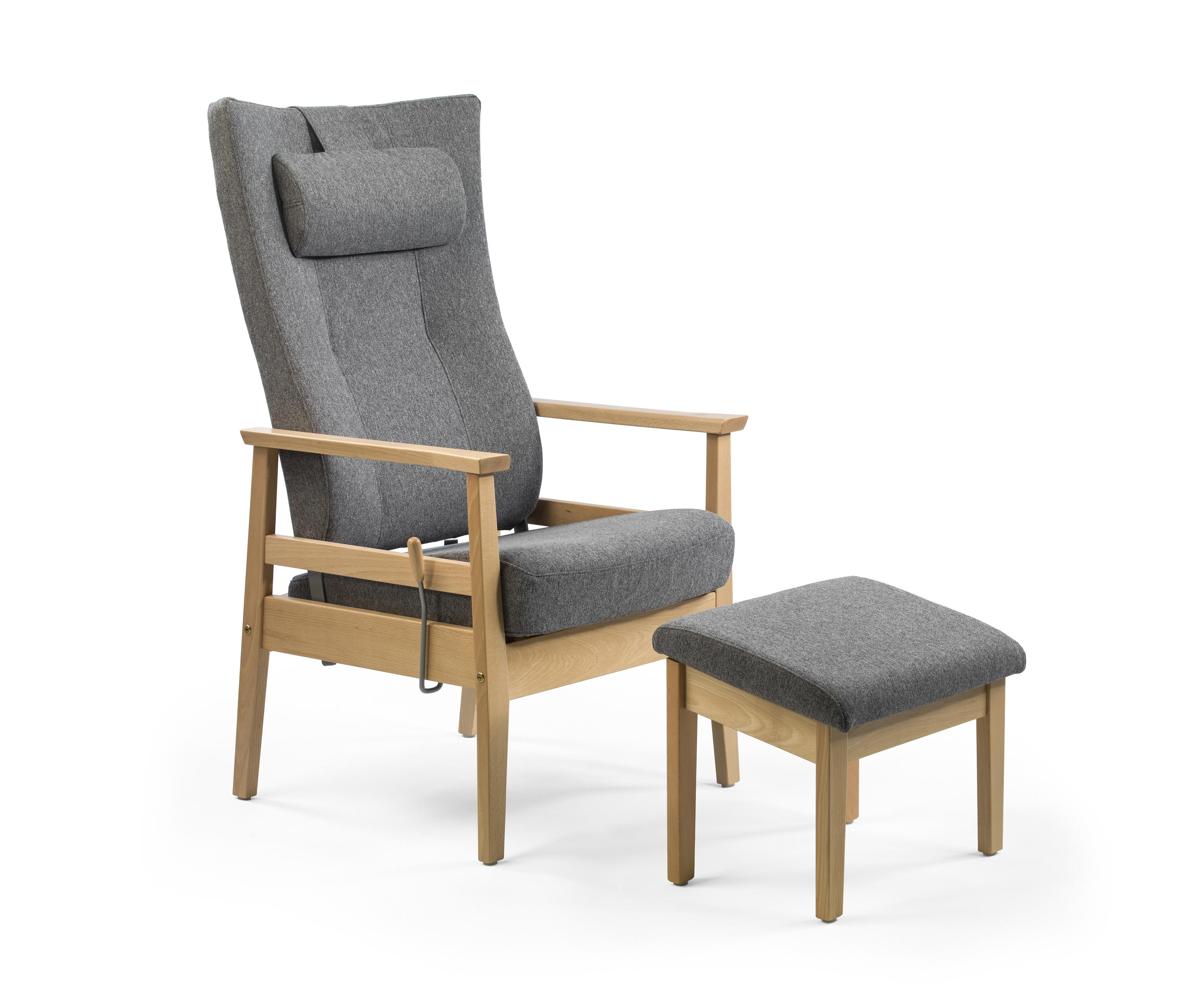 elderly chairs patterned recliner chair bo armchairs from helland architonic