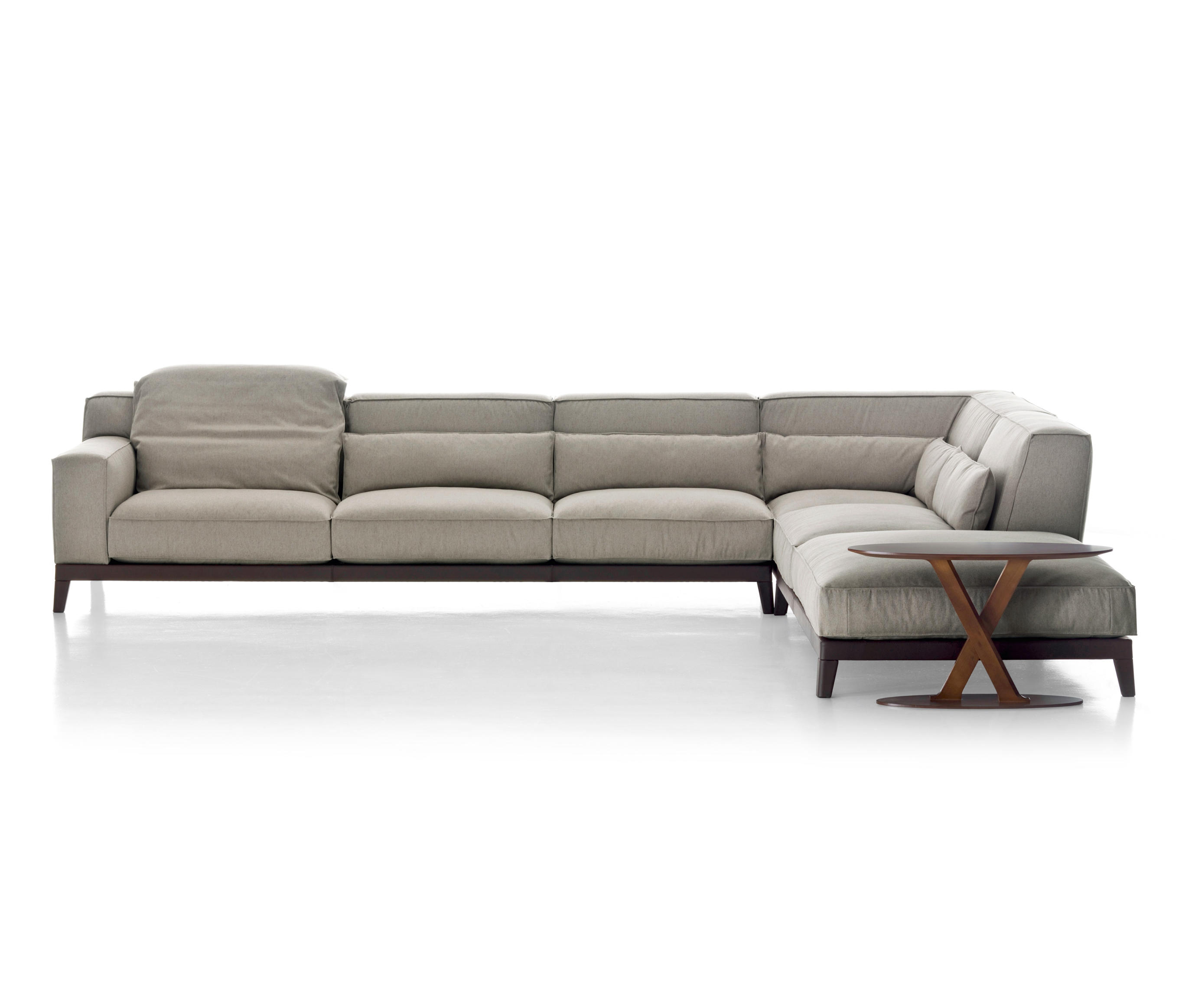 sofas couches taupe leather sofa decor swing from busnelli architonic