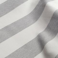 Fabrics For Chairs Striped Accent Yellow Nizza Stripe 41 Silver Drapery From Nya Nordiska By