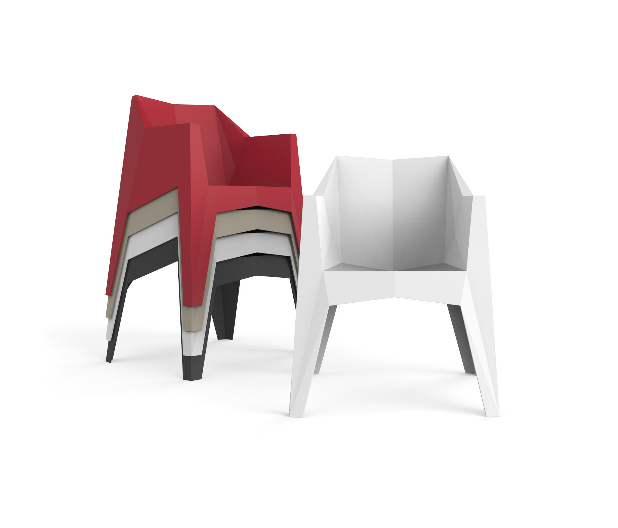 VOXEL STREET CHAIR  Chairs from Vondom  Architonic
