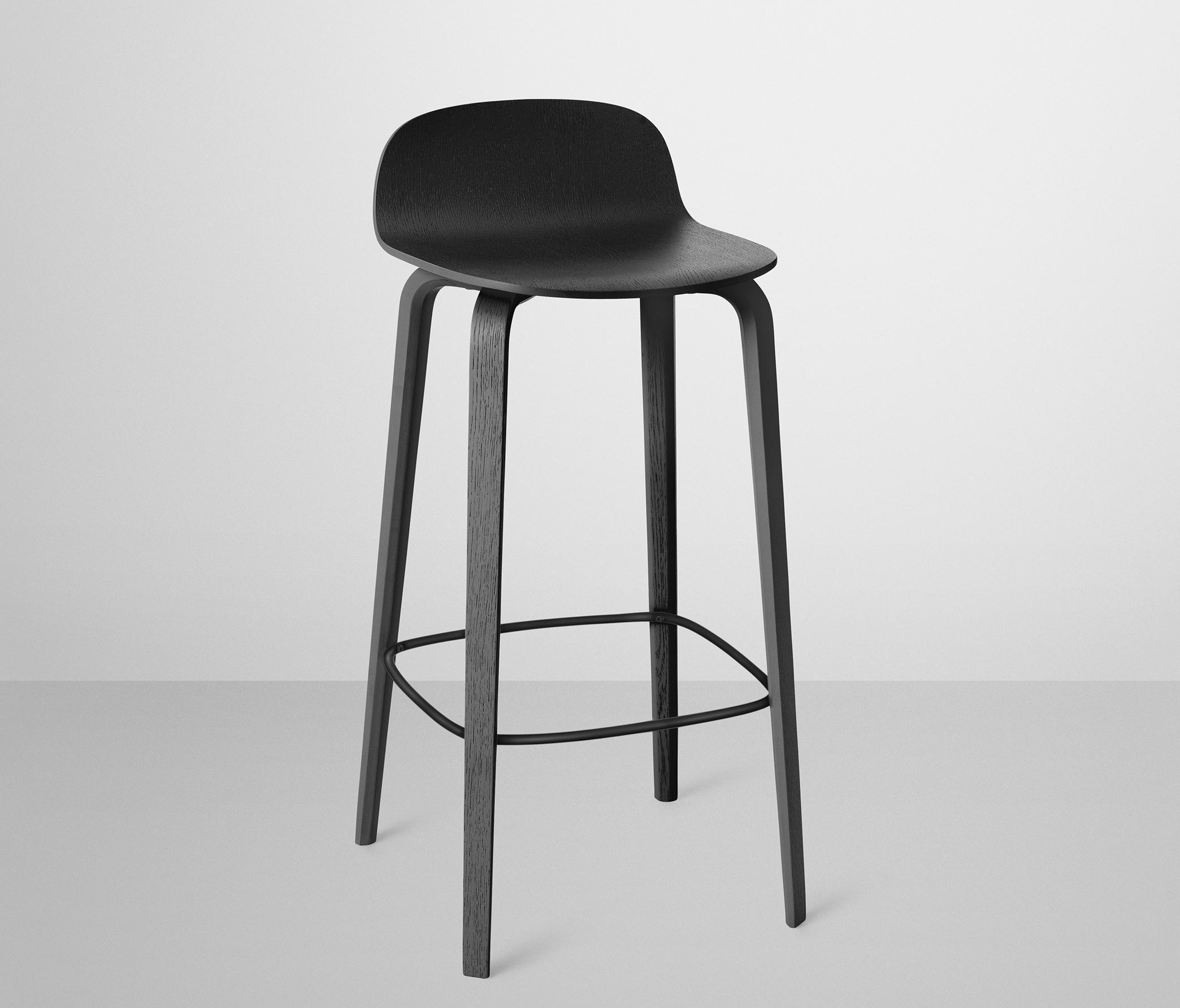 high bar stool chairs swing chair b&q visu stools from muuto architonic